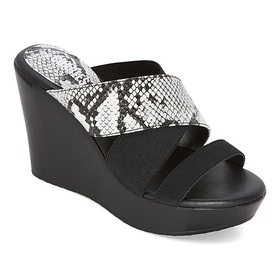 Style Charles Womens Febe Wedge Sandals