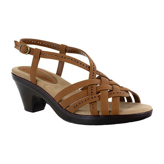 Easy Street Womens Jackson Heeled Sandals