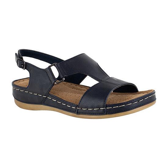 Easy Street Womens Sami Strap Sandals