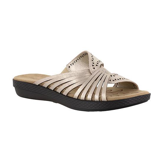 Easy Street Womens Tula Slide Sandals