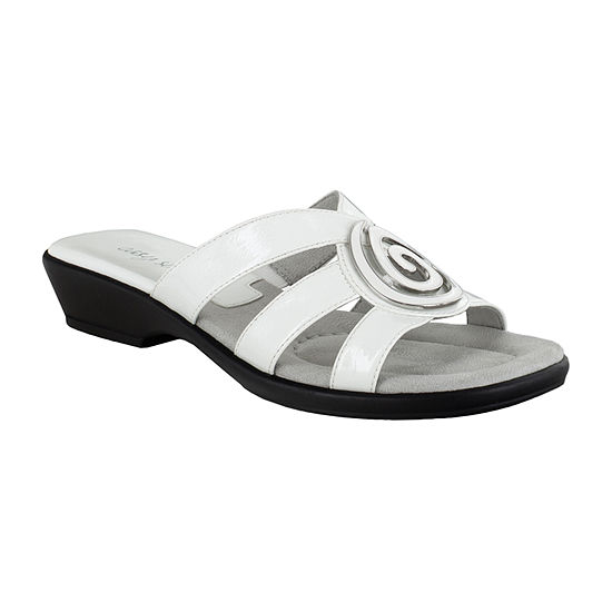 Easy Street Womens Thrive Slide Sandals