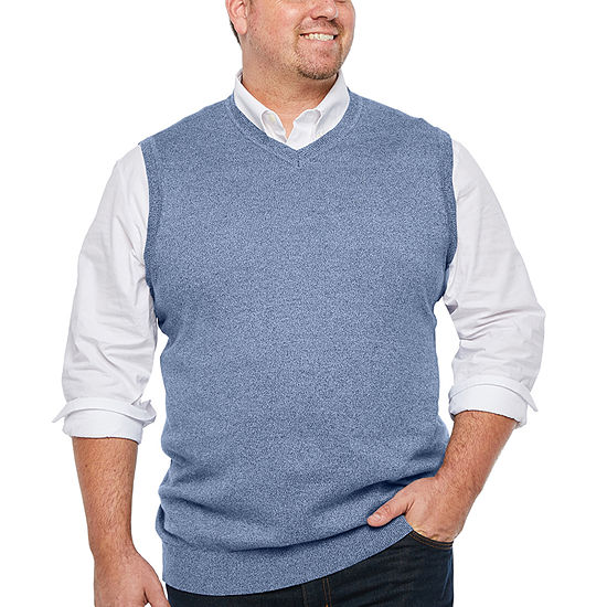 The Foundry Big & Tall Supply Co. Mens V Neck Sweater Vest
