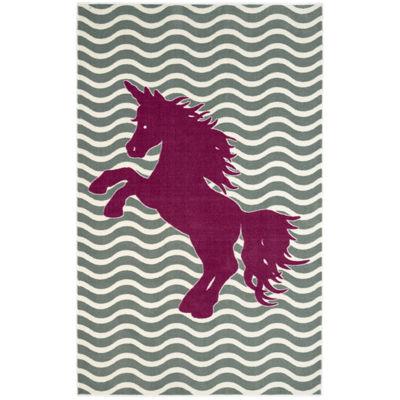Mohawk Home® Majestic Unicorn Rectangular Rug