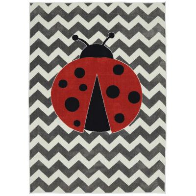 Mohawk Home® Little Ladybug Rectangular Rug