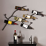 Brisbane Wall Mount Wine Rack Wall Decor