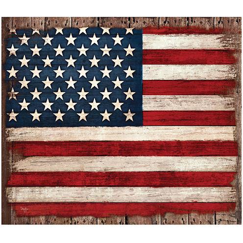Old Glory USA Canvas Wall Art