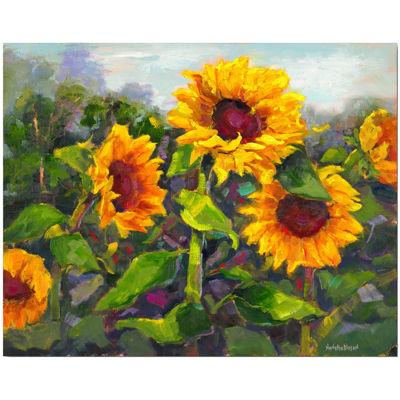 Sunflower Canvas Wall Art