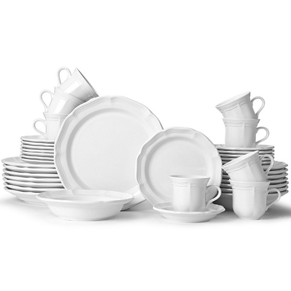 Dinnerware Set - Service for 8  sc 1 st  JCPenney & Mikasa French Countryside 40 pc Dinnerware Set