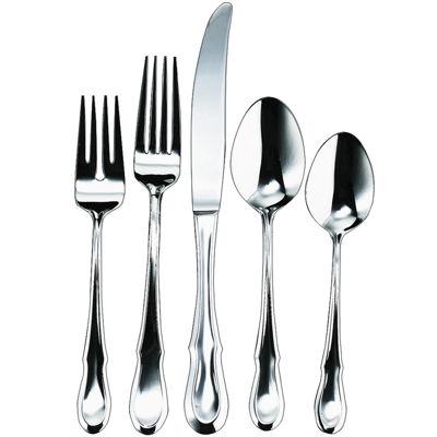 Ginkgo® Celine Platinum™ 20-pc. 18/10 Stainless Steel Flatware Set