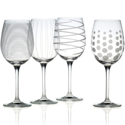 Mikasa® Cheers Set of 4 White Wine Glasses