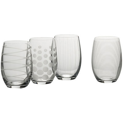 Mikasa® Cheers Set of 4 Stemless Wine Glasses