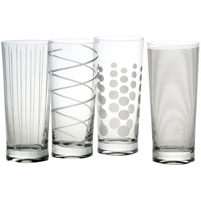 Mikasa® Cheers Set of 4 Highball Glassses