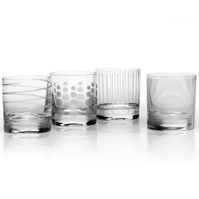 Mikasa® Cheers Set of 4 Double Old Fashioned Glass