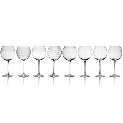 Mikasa® Cheers Set of 8 Balloon Goblets