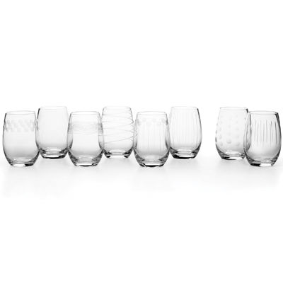 Mikasa® Cheers Set of 8 Stemless Wine Glasses