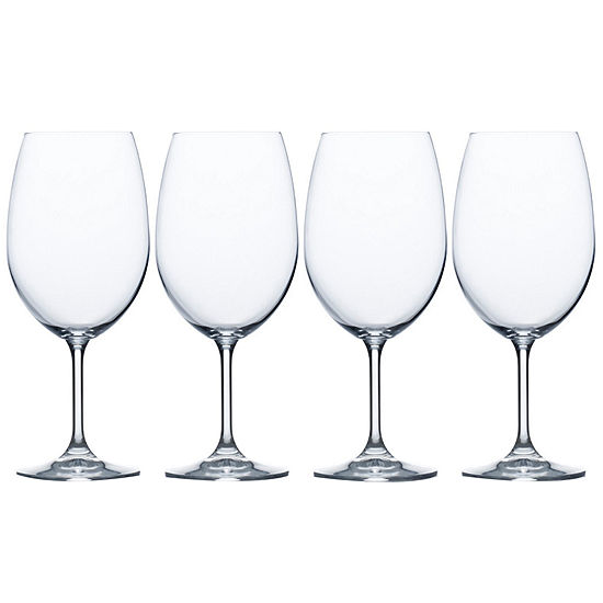 Mikasa® Laura Set of 4 Crystal Goblets