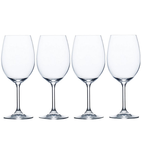 Mikasa® Laura Set of 4 Crystal White Wine Glasses