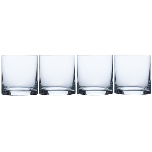 Mikasa® Laura Set of 4 Crystal Double Old-Fashioned Glasses