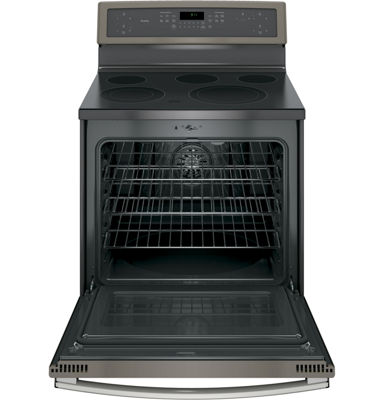 "GE Profile™ 30"" 5.3 Cu. Ft. Electric Range with Self Cleaning Convection Oven"