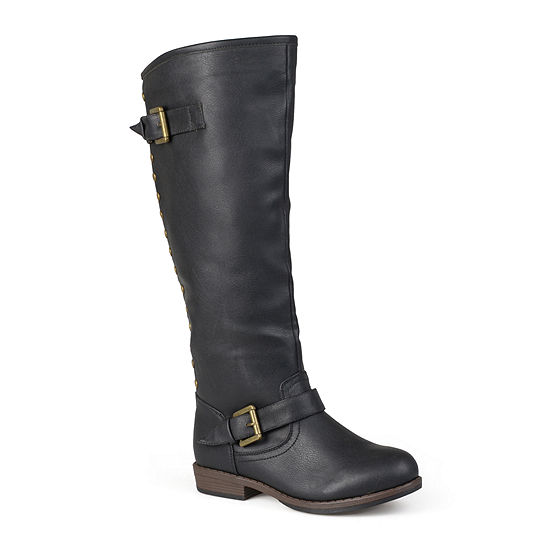 Journee Collection Womens Spokane Wide Calf Riding Boots