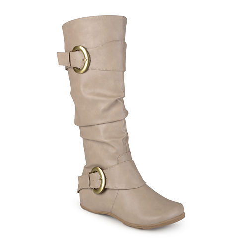 Journee Collection Paris Slouch Riding Boots - Wide Calf