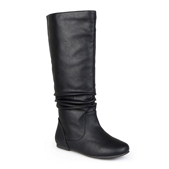 Journee Collection Womens Jayne Wide Calf Slouch Boots
