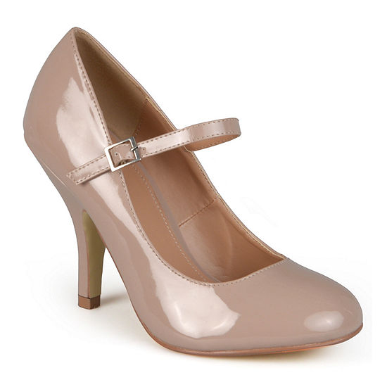 Journee Collection Womens Leslie Pumps Buckle Closed Toe
