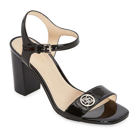 Liz Claiborne Womens Nihoa Heeled Sandals