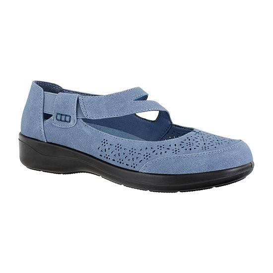 Easy Street Womens Alpha Slip-On Shoe Round Toe