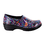 Easy Works By Easy Street Womens Round Toe Tiffany Clogs