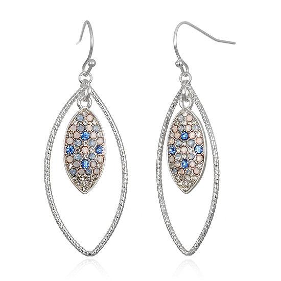 Delicates Oval Drop Earrings