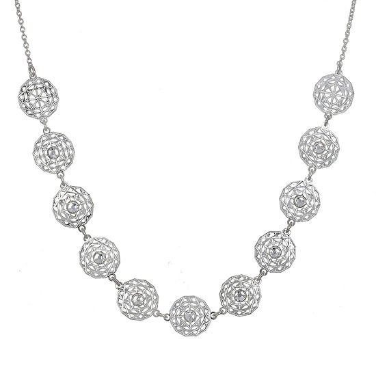 Mixit 16 Inch Link Statement Necklace