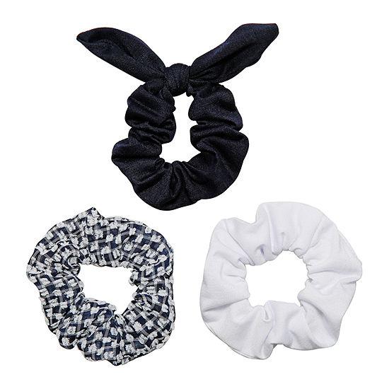 Arizona Navy Scrunchie Hair Goods Sets