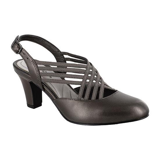 Easy Street Womens Sapphire Pumps Spike Heel