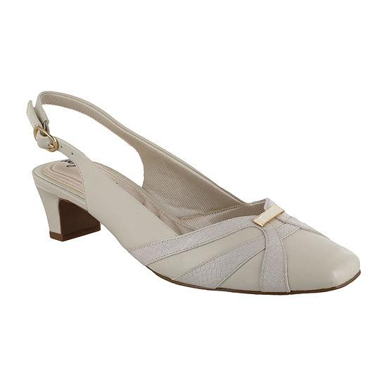Easy Street Womens Pilar Pumps Block Heel