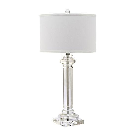 Safavieh Nina Column Crystal Table Lamp