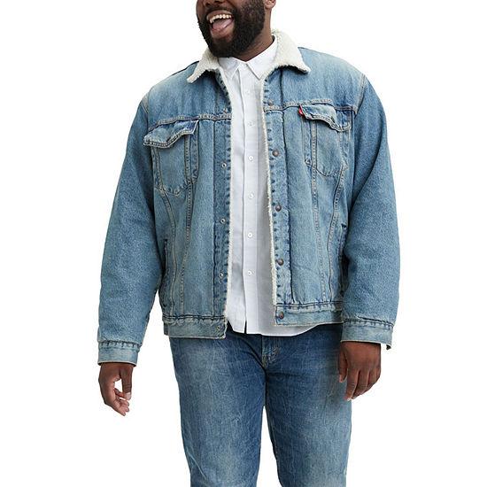 Levi's® Water<Less™ Mens Midweight Denim Jacket-Big & Tall