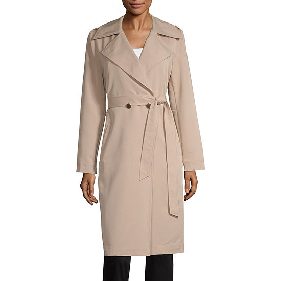 Worthington Belted Lightweight Trench Coat