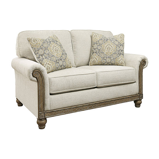 Signature Design by Ashley Stottville Collection Roll-Arm Loveseat
