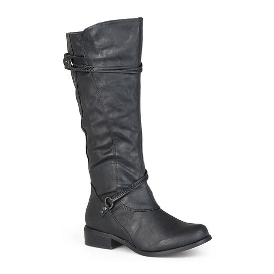 Journee Collection Womens Harley Riding Boots