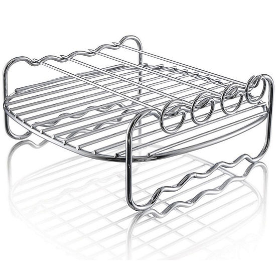 Philips HD9904/00 Double Layer Rack with Skewers
