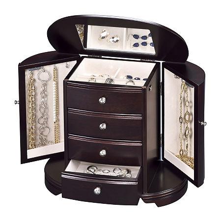 Classic Java Jewelry Box, One Size , Java