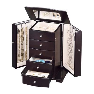 Contemporary Java Jewelry Box