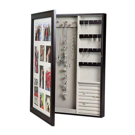 ac1ead420 Java Wall Photo Frame Jewelry Box, Color: Java - JCPenney