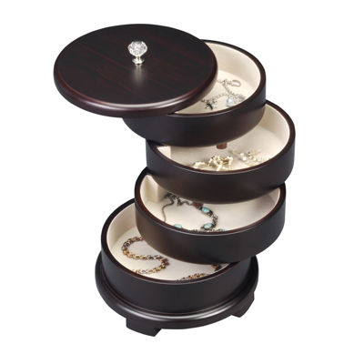 Java Swivel Jewelry Box