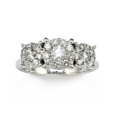 LIMITED QUANTITIES 1 CT. T.W. 14K White Gold Diamond Ring