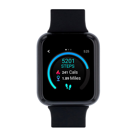 Itouch Air 3 Unisex Adult Black Smart Watch-500006b-4-51-G02