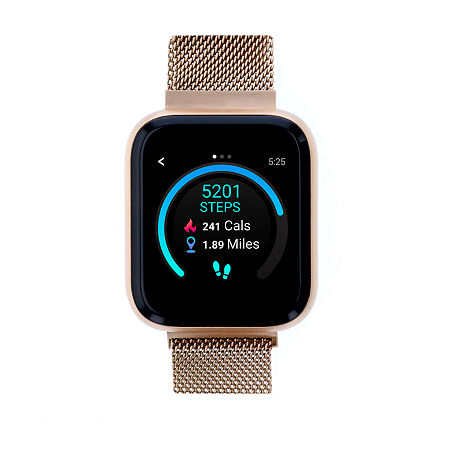 Itouch Air 3 Unisex Adult Rose Goldtone Stainless Steel Smart Watch-500011r-0-51-C29, One Size