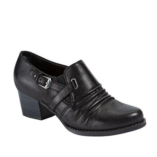 Wearever Shoes Womens Stacked Heel Ramsee Booties