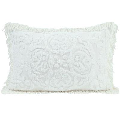 Medallion Chenille Standard Pillow Sham